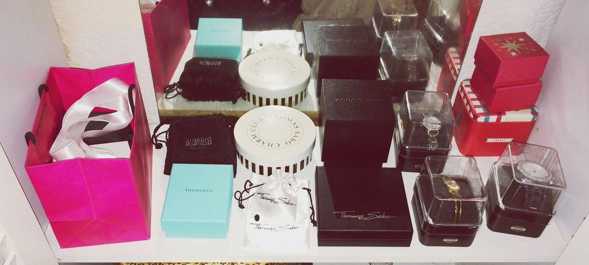Da bleiben keine Frauen Wünsche offen :) Tiffany&Co. Thomas Sabo Michaelkors Jewellery