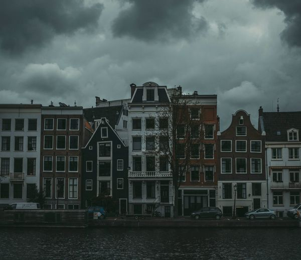 Dark Amsterdam Amsterdam Amsterdamcity Cloud - Sky City Dramatic Sky Cityscape Urban Skyline Outdoors No People Architecture Storm Cloud Nature Landscape Photography Instagram VSCO Mood Sky Exploring Taking Photos Building Exterior Night