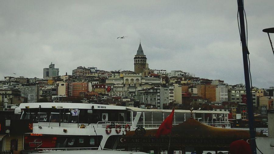 Galatakulesi Istanbul City No People Day