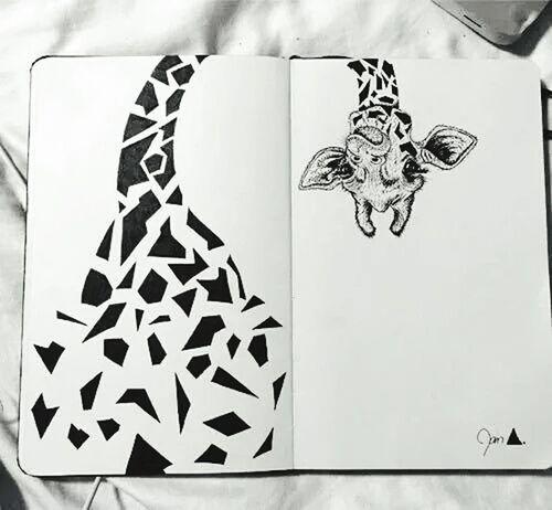Drawing :) Giraffes!