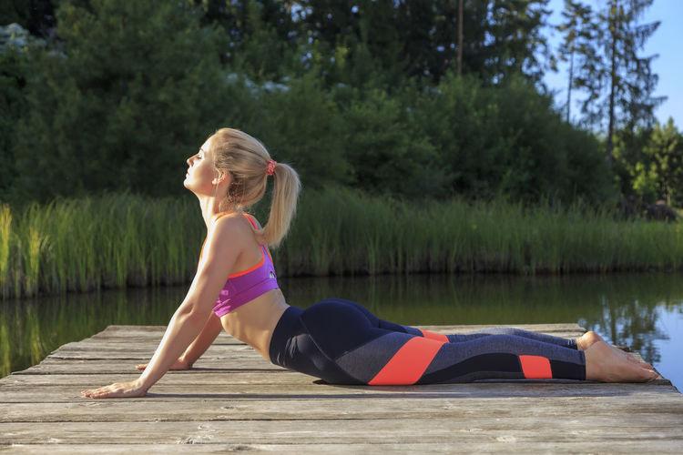 Yoga woman Yoga