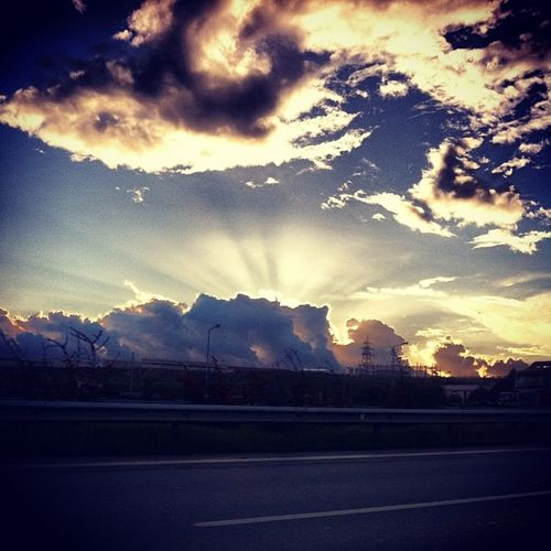 Sky Sun Cloud Cool View