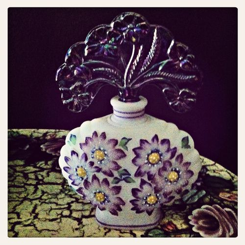 Foodp Fenton Glass Collection Perfume Knick Knacks