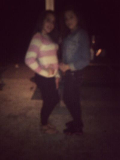 came out blurry but me & my babyy ♥ bestnight ever