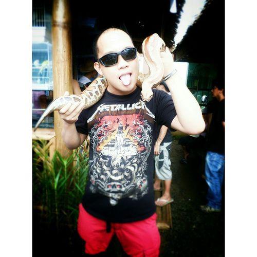 Me and snake Kaamulan2014