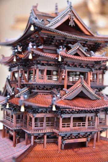 Architecture Building Exterior Built Structure Close Up Building Model Chinese History No People Outdoors Retail