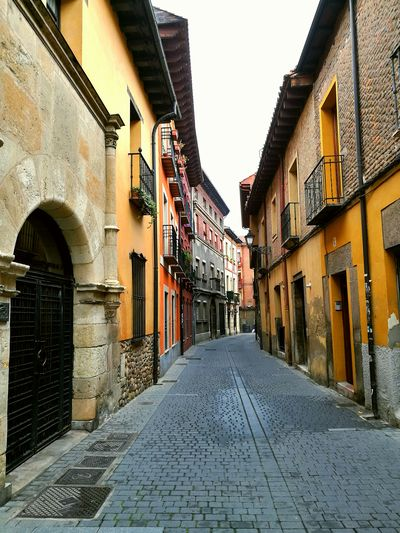 Streetphotography Architecture Built Structure Building Exterior No People No People Outdoors Day Outdoors Colors Colorfull Houses SPAIN