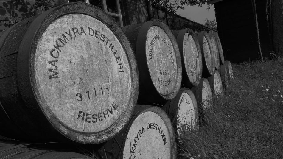 whiskey barrels Barrel Whiskey Whiskey Barrels Whiskeymakesmefriskey Single Malt Single Malt Whisky Single Malt Scotch Wisky Barrels Spirituosen Alcoholic Drink Alcoholic Logic Outdoors Photography Tranquil Scene Outdoors EyeEm Best Shots - Black + White Blackandwhite Photography Black And White Photography Black And White Collection  StillLifePhotography Eyem Collection EyeEm Gallery Lumix Lx7