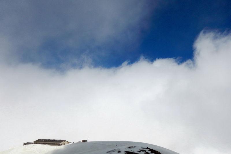 Cloud Cloudporn Cloud - Sky Blue Sky Mountain Hut Snow Mountain Mountain Hiking EyeEm Best Shots 富山県