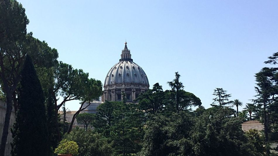 Dome Architecture Religion Place Of Worship Nature Clear Sky Vatican