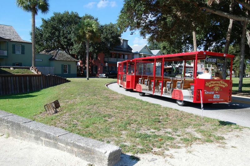 Florida Historic Site Historic City Ripleys Ghost Train Adventures Ghost Town Saint Augustine