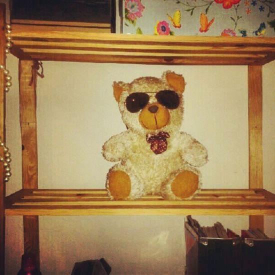 Osito de peluche con gafas de sol   Teddybear wearing sunglasses Osito Peluche OsitoDePeluche Gafas Sol GafasDeSol Teddybear Sunglasses