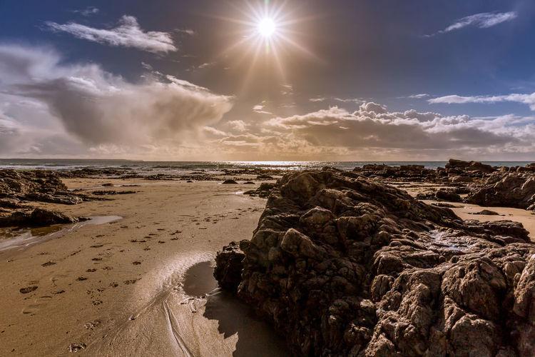 Sunrays hitting the beach at Praa Sands on the beautiful Cornish coast Beach Beach Photography Beauty In Nature Cloud - Sky Cornwall Beach Cornwall Life Cornwall Tourism Cornwall Uk Day Nature No People Outdoors Praa Sands Sand Scenics Sea Sky Sun Sunlight Sunlight Sunset Tranquil Scene Tranquility Water