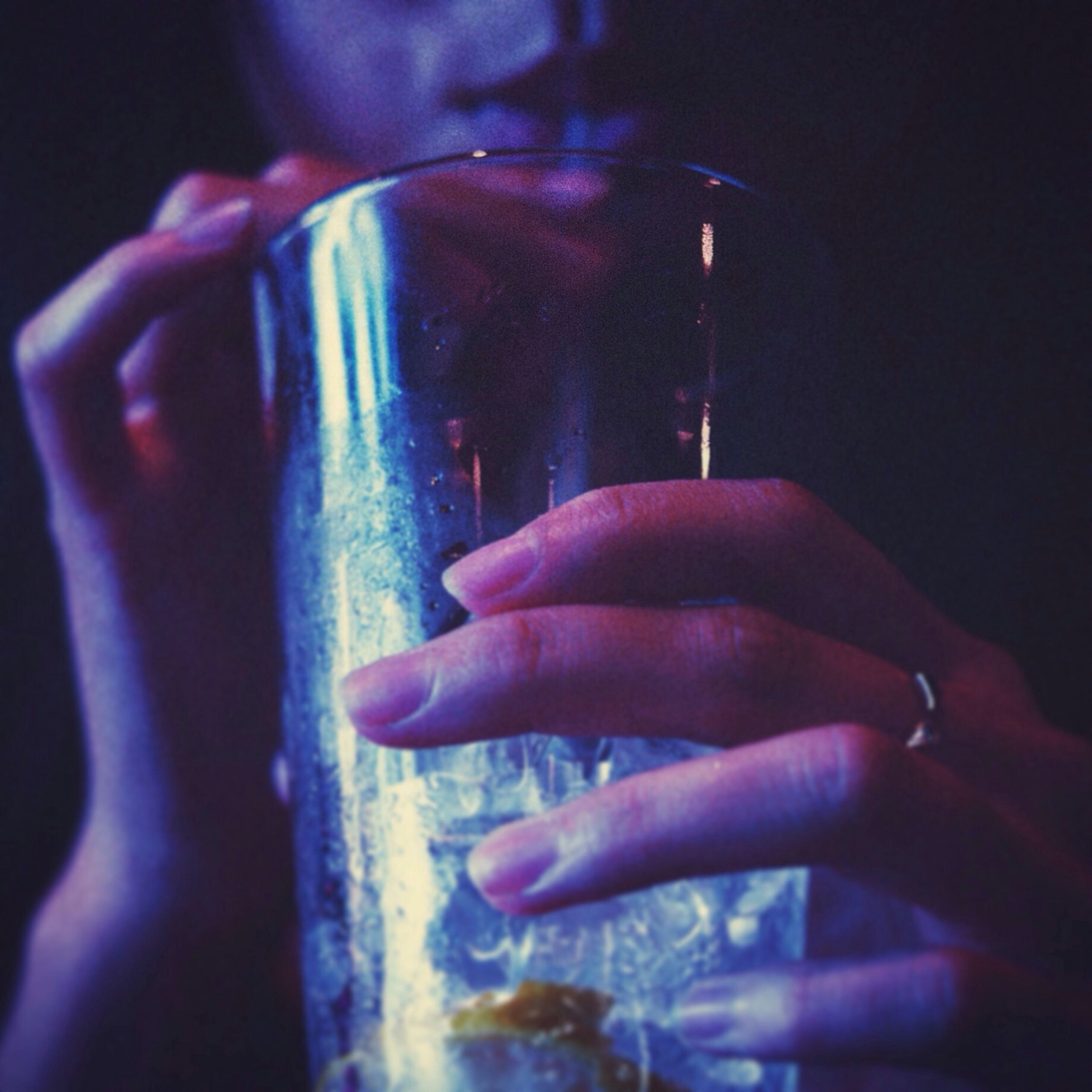person, holding, part of, cropped, indoors, human finger, focus on foreground, lifestyles, close-up, unrecognizable person, men, leisure activity, refreshment, addiction, personal perspective, glass - material