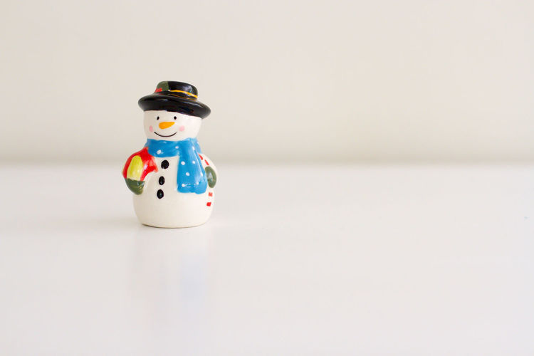 Isolated image of frosty the snowman. Perfect for your Christmas greeting message. Christmas Decor Frosty The Snowman Happiness Holiday Winter Xmas Abstract Background Celebrate Cold Decoration Greeting Card  Isolated On White Isolated White Background Landscape Ornaments Seasonal Snow