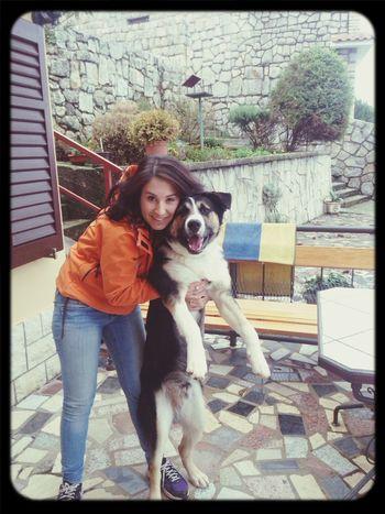 The best friend of mine! :) MyDog💓 Mylove Thebestfriend Happy Moments