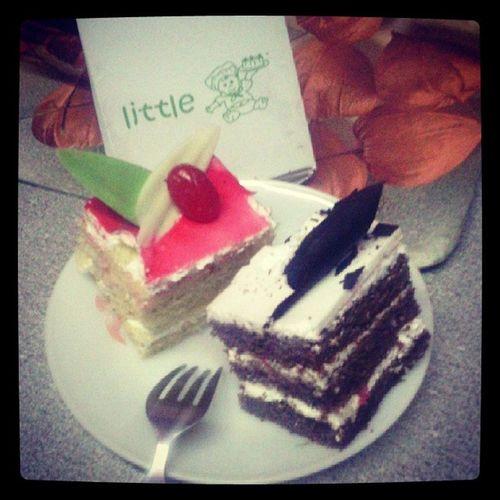 Sweetness!!! ^_^ LittleChef Bro 's Birthdaytreat Yummy bliss