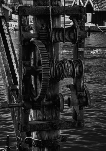Built Structure Crane Crane - Construction Machinery Day Industry Machinery Metal Nature Nautical Vessel No People Outdoors Power Supply Rusty Technology Water Waterfront Wheel The Still Life Photographer - 2018 EyeEm Awards