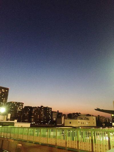 夕暮 東京