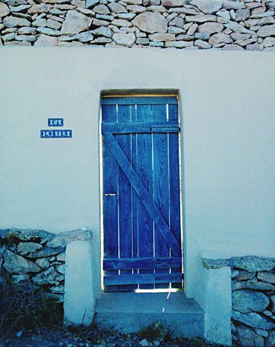 Door Puerta Summer Formentera SPAIN Blue