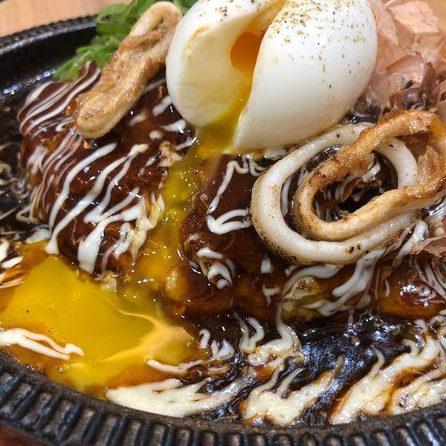 Oko Okonomiyaki Food Freshness Ready-to-eat Egg Close-up Healthy Eating Vegetable Indulgence Egg Yolk Still Life The Foodie - 2019 EyeEm Awards