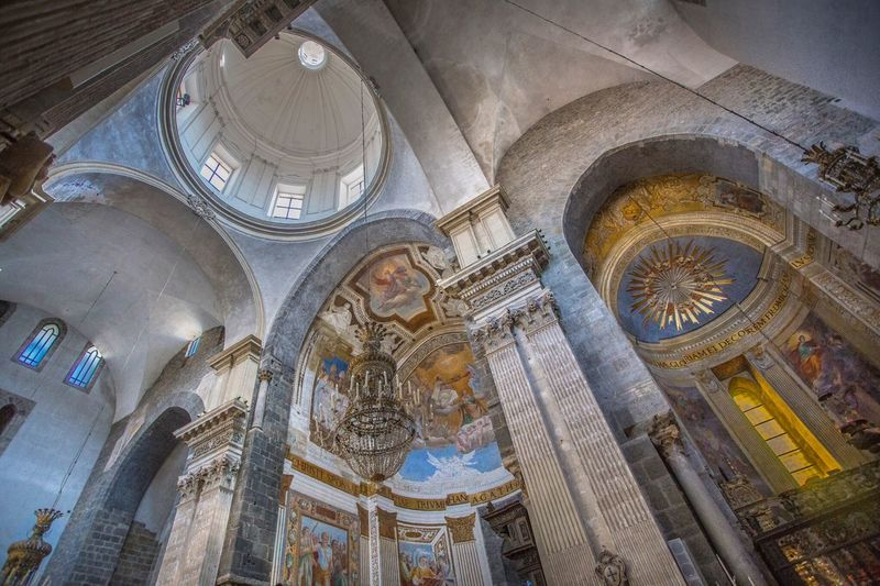 The Week On EyeEm Religion History Travel Destinations No People Spirituality Architecture Day Place Of Worship Indoors  Catania Catania Sicily St Agatha Cathedral Sicily