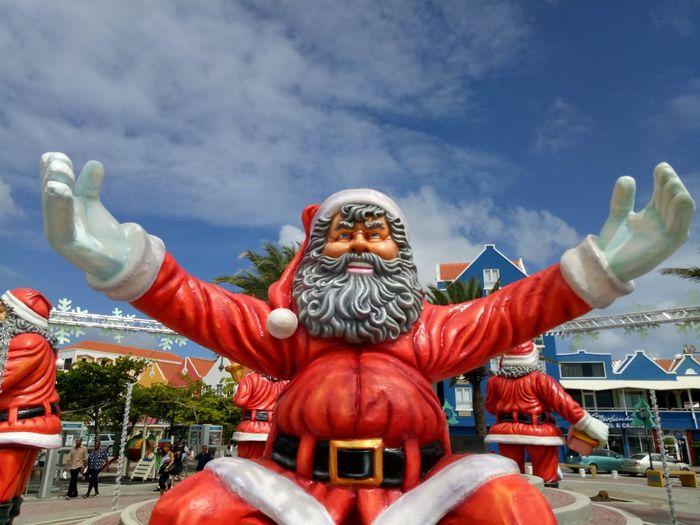Big Santa Adult Big Santa Celebration Cloud - Sky Day Outdoors People Portrait Sky World Santa