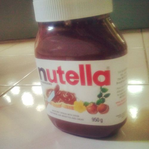 Nutella ♥ Yummy♡ Happykid Lovelovelove