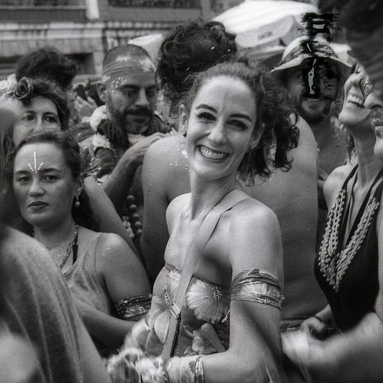 carnaval de rua Carnaval Carnival Brazil Streetphotography Street Film Photography 35mm 35mm Film Black And White Monochrome Analogue Photography EyeEm Selects Arts Culture And Entertainment Women Adult Adults Only Real People Leisure Activity Portrait People Happiness Crowd Cheerful Smiling Day