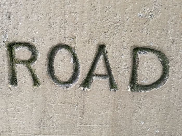 Part Of Word Sign Text Lettering Road Typography Textures And Surfaces Stone Wall Victorian Part Of Sign