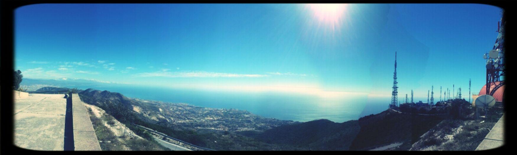 Panorámica desde Cerro del Moro Panorámica Mirador Sky
