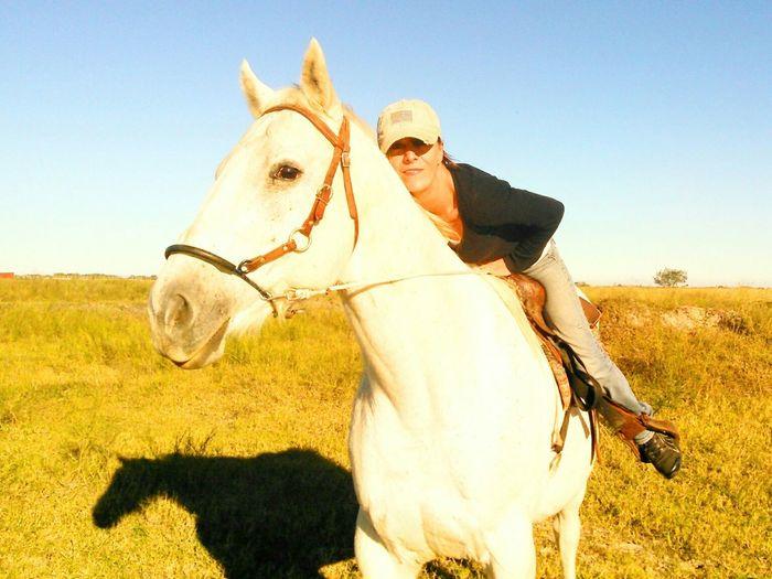 Showcase: December Horseback Riding on Mr. Heavenly Quarter Horse