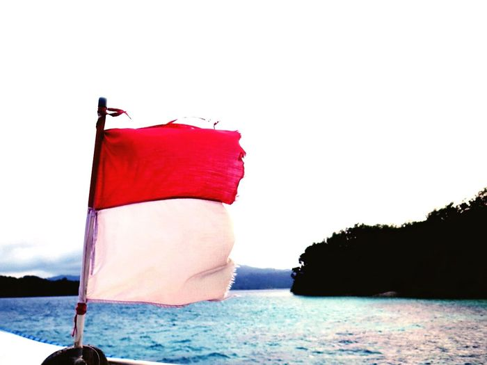 Red and white.. Indonesian Wonderful Indonesia Indonesianisland