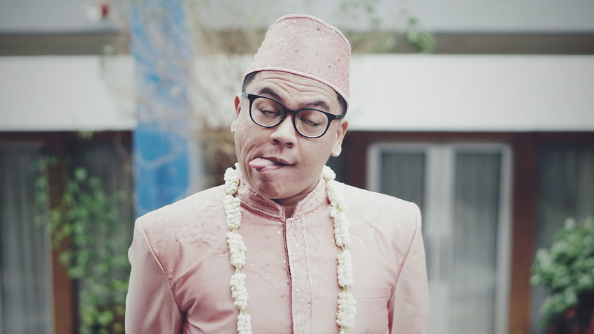 My best friend getting married Eyeglasses  Headshot Close-up Men Individuality Fashion One Person Wedding Fashion Stories