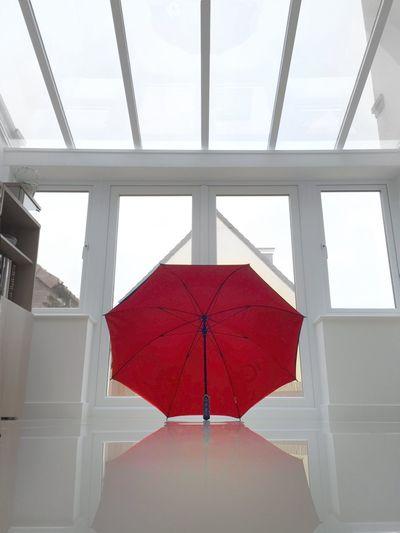 Interior Views Minimalism Minimalobsession Minimalist Symmetry Symmetrical Glass Umbrella IPS2016White