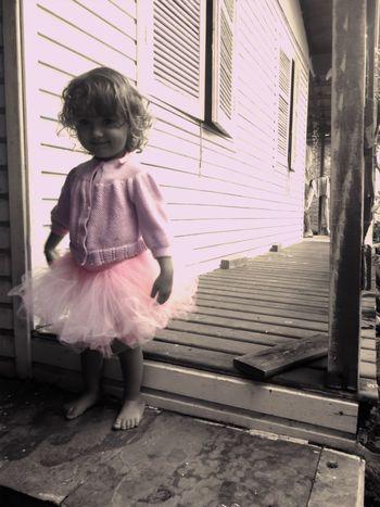 Ballerina Taking Photos Colorsplash Eye4photography  Bw_collection