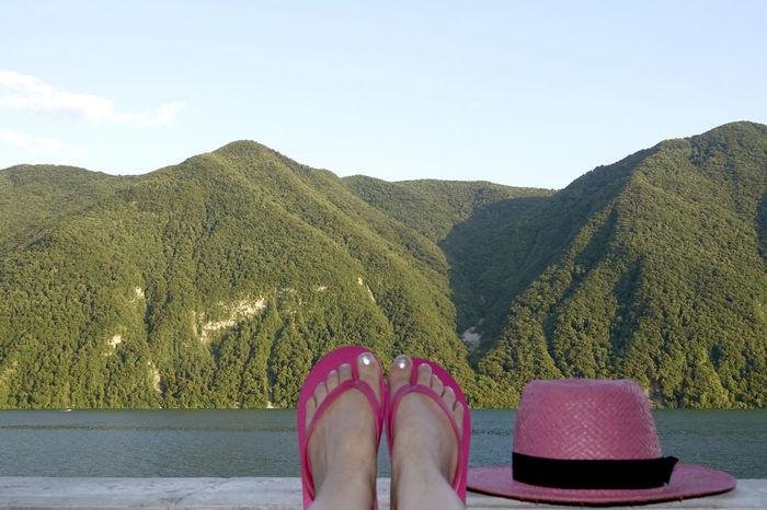 summertime,Germany Erholung Pur Freizeit Holiday Pink Sommerfeeling Sommergefühle Summertime Urlaub Erholung Ferien Pink Color Sea Sommer Summer Water