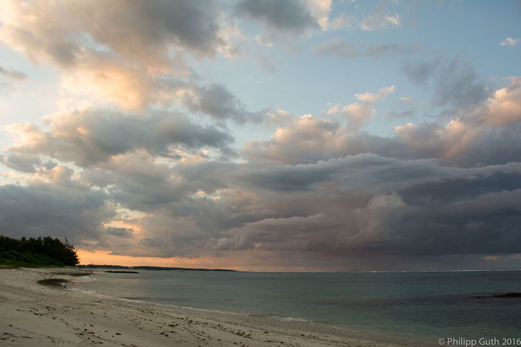 Sky Cloud - Sky Beauty In Nature Water Scenics - Nature Sea Land Beach Horizon Horizon Over Water Nature Sunset Tranquility Tranquil Scene Storm No People Outdoors Overcast Ominous