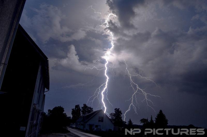 Blitz Blitz Glitter Glitter Blitz Blitze Gewitterstimmung Gewitter Nature