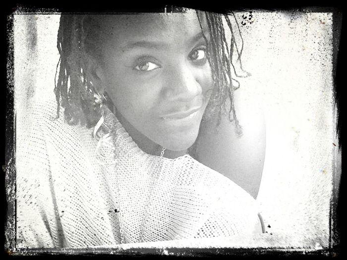 It's time for me to smile. Blackandwhite