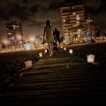 Playasanjuan Alicante Night Illuminated Real People Street SPAIN playa beach Velas The Street Photographer - 2018 EyeEm Awards EyeEmNewHere The Traveler - 2018 EyeEm Awards
