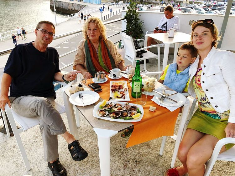 Sitting Food And Drink Group Of People Women Food Table Men Casual Clothing Plate People Real People Females Males  Togetherness Emotion Adult Lifestyles Indoors  Meal