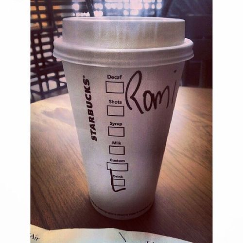 Starbucks Larage