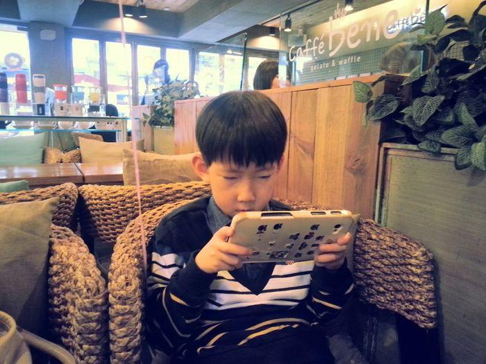 Caffe bene 해운대점. Pusan Haeundae Caffe Bene5 Coffee Taking Photos