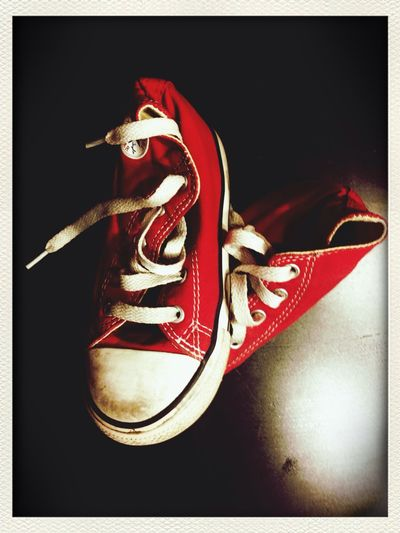 The Illusionist - 2014 EyeEm Awards Shoes Red Zapatillas