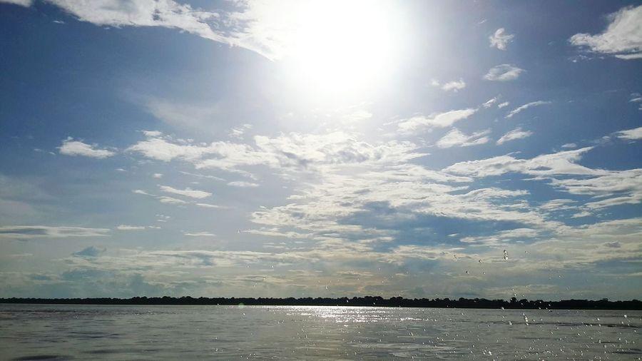 Amazon River River Paisaje Paisajes Colombianos Naturaleza Colombia Amazonas Sunset Natural Atardecer Amazonas Colombia Sun Día Soleado Sin Filtros