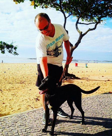 Seja sempre o sol e o amor na vida de alguém. Beach Sea Dog Leisure Activity Outdoors Day Amor Nature Pets Dogisfamily Praia Dogsofinstagram Dogs Of EyeEm Mydogismychild Capixabadagema Capixaba Amor_ES Vidanova Esperança