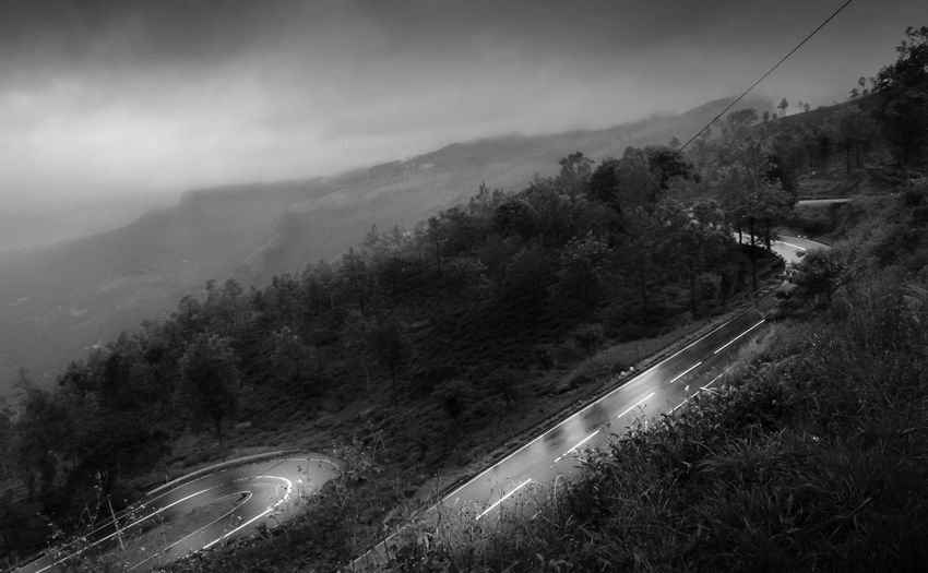 Lonely roads Road Mountain Landscape Tree No People Nature Fog Winding Road Forest Curve Scenics Beauty In Nature Sky Wallpapers Blackandwhite Wallpaper Dark Srilanka. Nurwara Eliya Bnw Bnw_collection Backgrounds Nature Tranquil Scene EyeEmNewHere The Week On EyeEm Lost In The Landscape