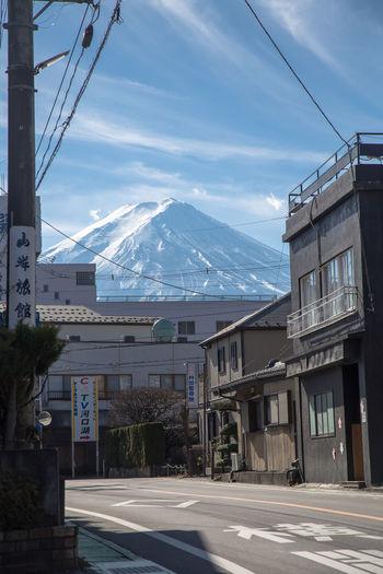 Mt. Fuji behind