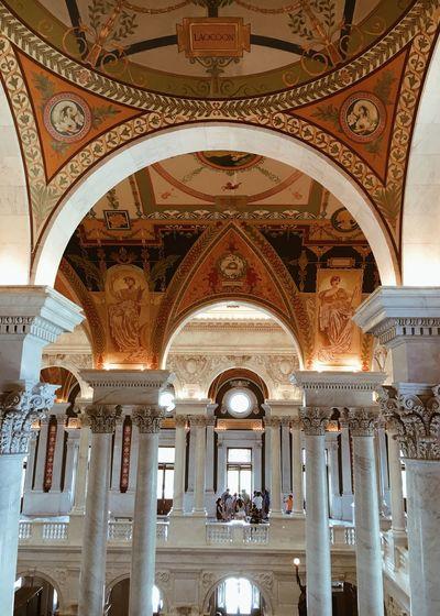 Washington Church United States Architecture Ceiling Travel Design